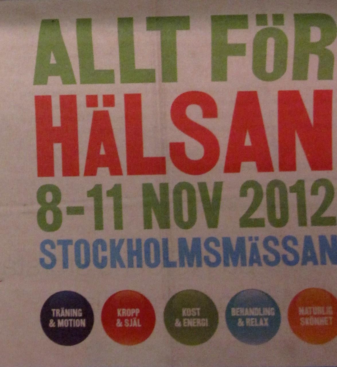Allt för Hälsan mässguide 2012
