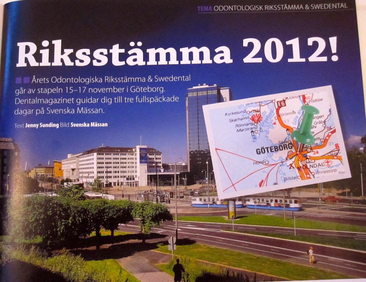 Riksstämma 2012!