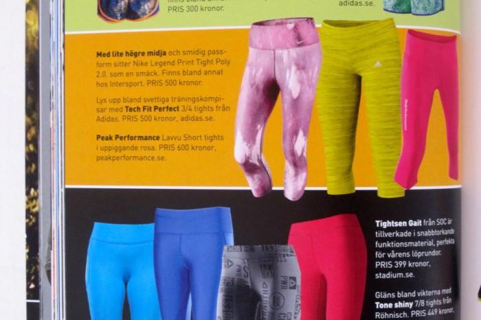 Färgsprakande ben
