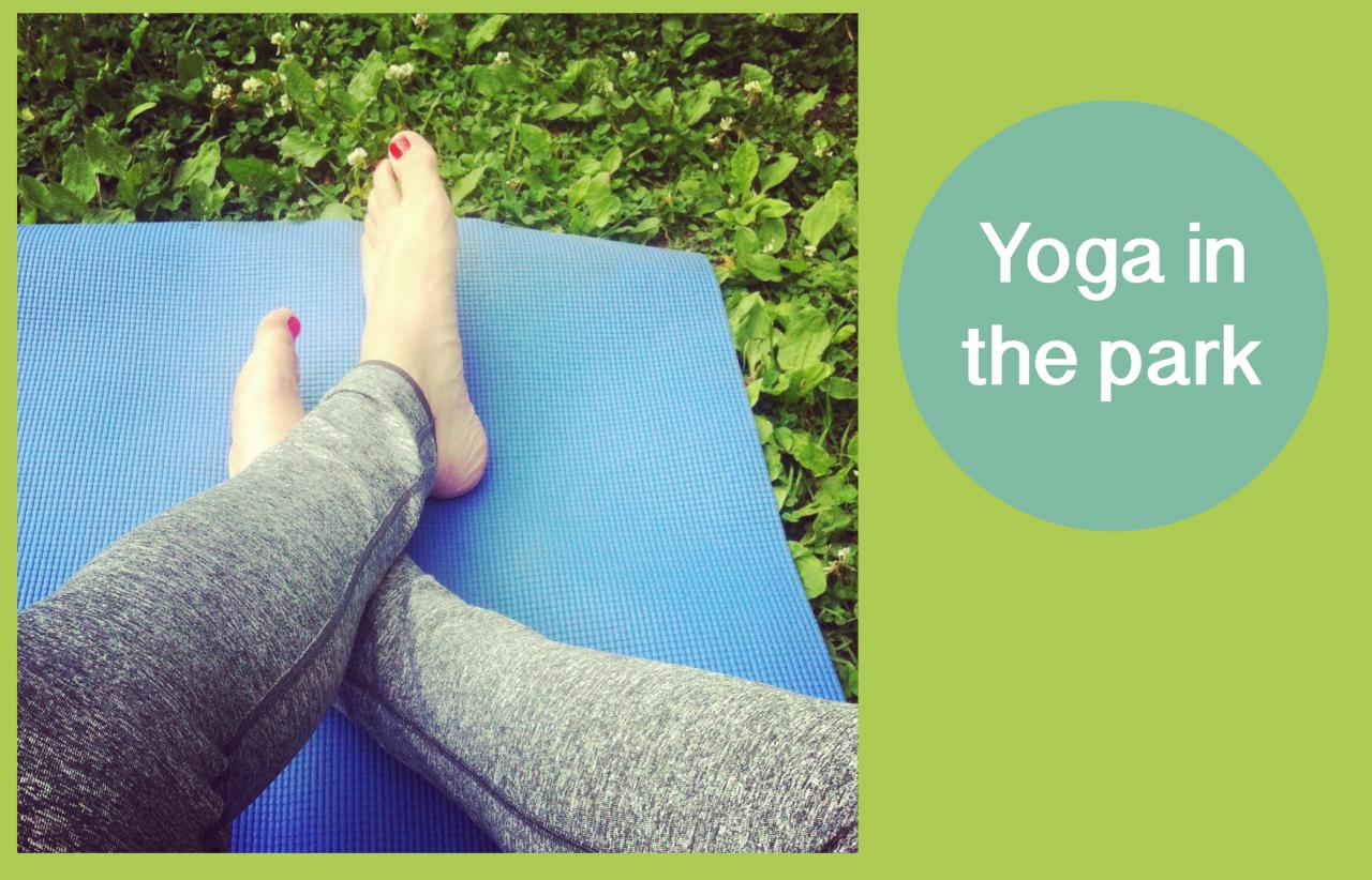 Yoga-utomhus