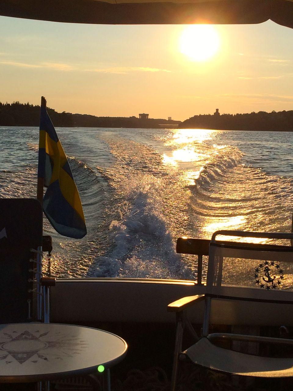 Sommar båt