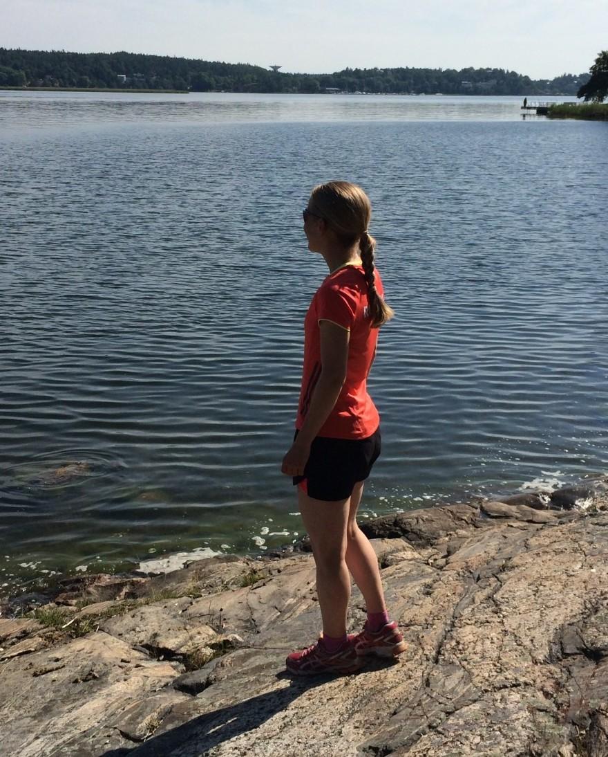 Jenny vattnet löpning